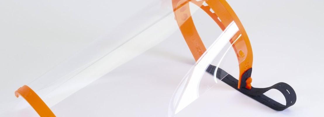 visière de protection covid 19 imprimée à partir du modèle prusa